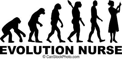护士, 进化
