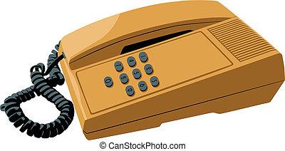 押しボタン式電話
