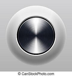 押しボタン, 手ざわり, 金属