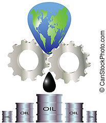 抽出, 天然資源