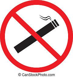 抽烟, 不