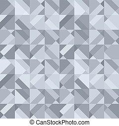 抽象的なデザイン, 灰色, 背景, 幾何学的