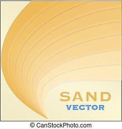 抽象的なデザイン, 砂, 要素