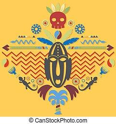 抽象的な 概念, 芸術, 種族, アフリカ