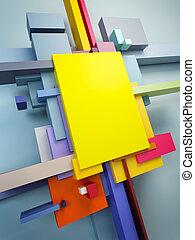 抽象的な 芸術, 構成