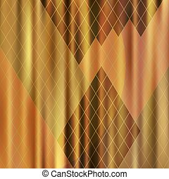 抽象的, ひだのある布