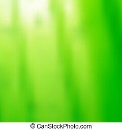 抽象的, ぼんやりさせられた, デザイン, 背景, 緑, あなたの