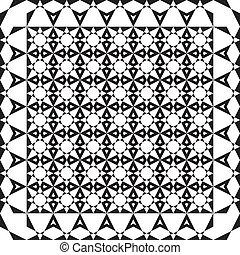 抽象的, アラベスク, プロジェクト, 広場, 背景, 要素, 1