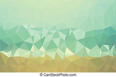 抽象的, -, イラスト, ベクトル, デザイン, 背景