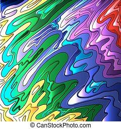 抽象的, カラフルである, 背景