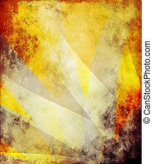 抽象的, キャンバス, 背景, 合成