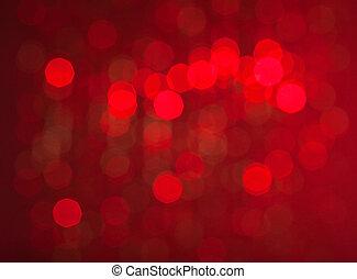 抽象的, クリスマスライト, 背景
