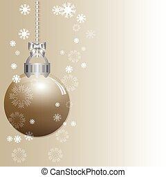 抽象的, クリスマス, 勾配, 背景