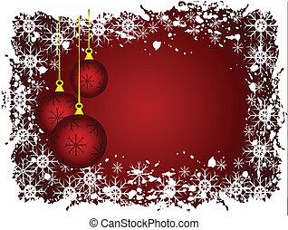 ∥, 抽象的, グランジ, クリスマス, ベクトル, イラスト