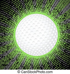 抽象的, ゴルフ, 背景