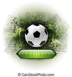 抽象的, サッカー