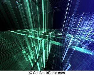 抽象的, デジタルバックグラウンド