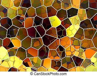 抽象的, ハチの巣