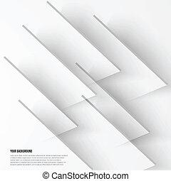 抽象的, ベクトル, デザイン, 背景, fractal., 影