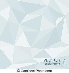 抽象的, ベクトル, 三角形, 形。, 背景