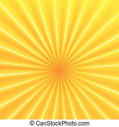 抽象的, ベクトル, 光線, 背景