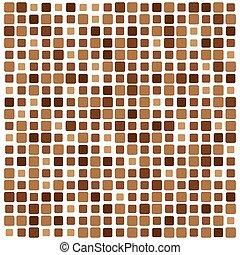 抽象的, ベクトル, 正方形, 背景, カラフルである