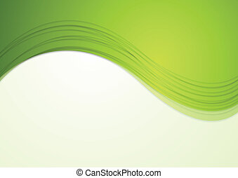 抽象的, ベクトル, 背景, 波