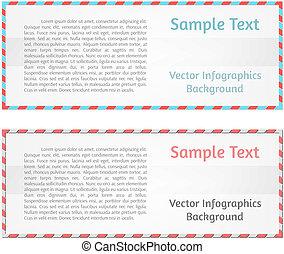 抽象的, ベクトル, 背景, infographics