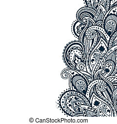 抽象的, ペイズリー織, 背景