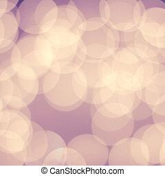 抽象的, ホリデー, ライト, 背景