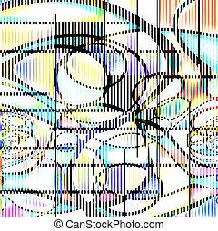 抽象的, モダンアート
