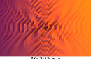 抽象的, 三角形, 背景, イラスト, 幾何学的
