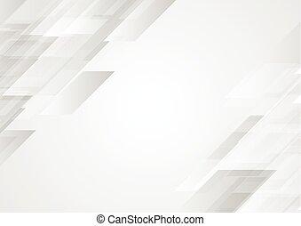抽象的, 企業である, 灰色, 背景, hi-tech
