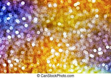 抽象的, 光っていること, 背景を彩色しなさい