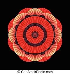 抽象的, 円, 装飾