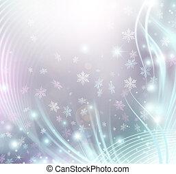 抽象的, 冬 休日, 背景