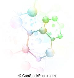 抽象的, 分子