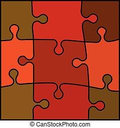 抽象的, 困惑, 背景, 有色人種