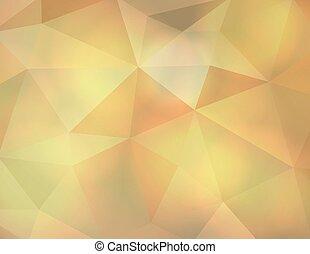 抽象的, 地球の調子, 三角形