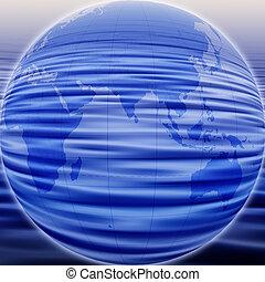 抽象的, 地球