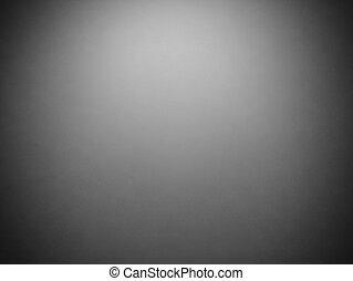 抽象的, 型, グランジ, 暗い灰色, 背景, ∥で∥, 黒, ビネット, フレーム, 上に, ボーダー, そして,...