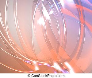 抽象的, 壁紙, 半透明, 背景