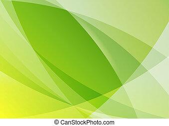 抽象的, 壁紙, 緑の背景