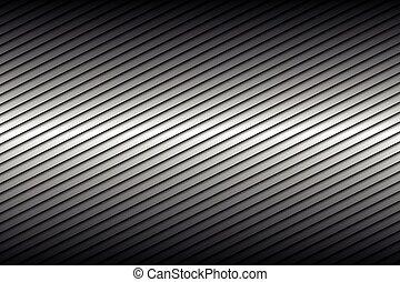 抽象的, 対角線, イラスト, ライン, ベクトル, 黒い背景, 銀
