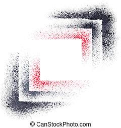 抽象的, 幾何学的, 構成