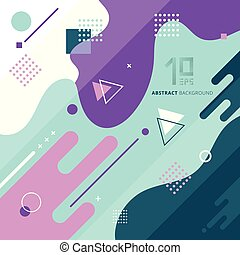 抽象的, 幾何学的, 背景, design.