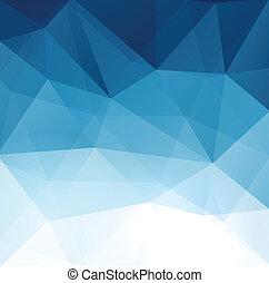 抽象的, 幾何学的, polygonal, バックグラウンド。