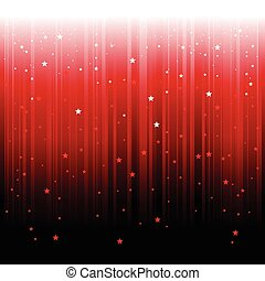抽象的, 星, 落ちる, 背景