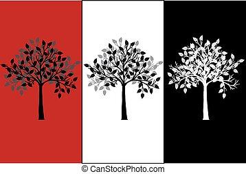 抽象的, 木, キャンバス