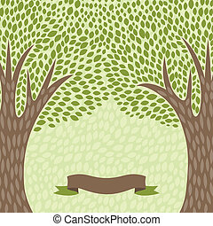 抽象的, 木, 定型, レトロ, 背景, style.
